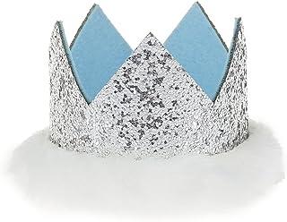 GEMVIE ベビー 帽子 ハット ヘアバンド クラウン 王冠 キッズ ヘアアクセサリ 可愛い 誕生日 記念撮影 パーティー 結婚式 お宮参り