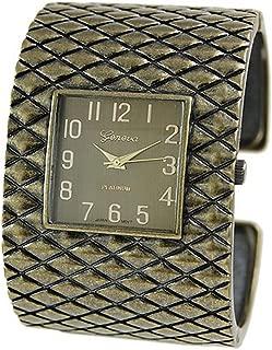 Geneva Platinum Women's Cuff Watch 8630 (Bronze)
