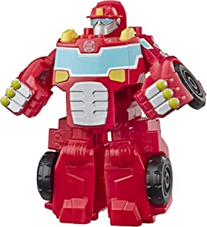 Transformers Playskool Heroes Rescue Bots Academy Heatwave The Fire-Bot Converting Toy, 4.5