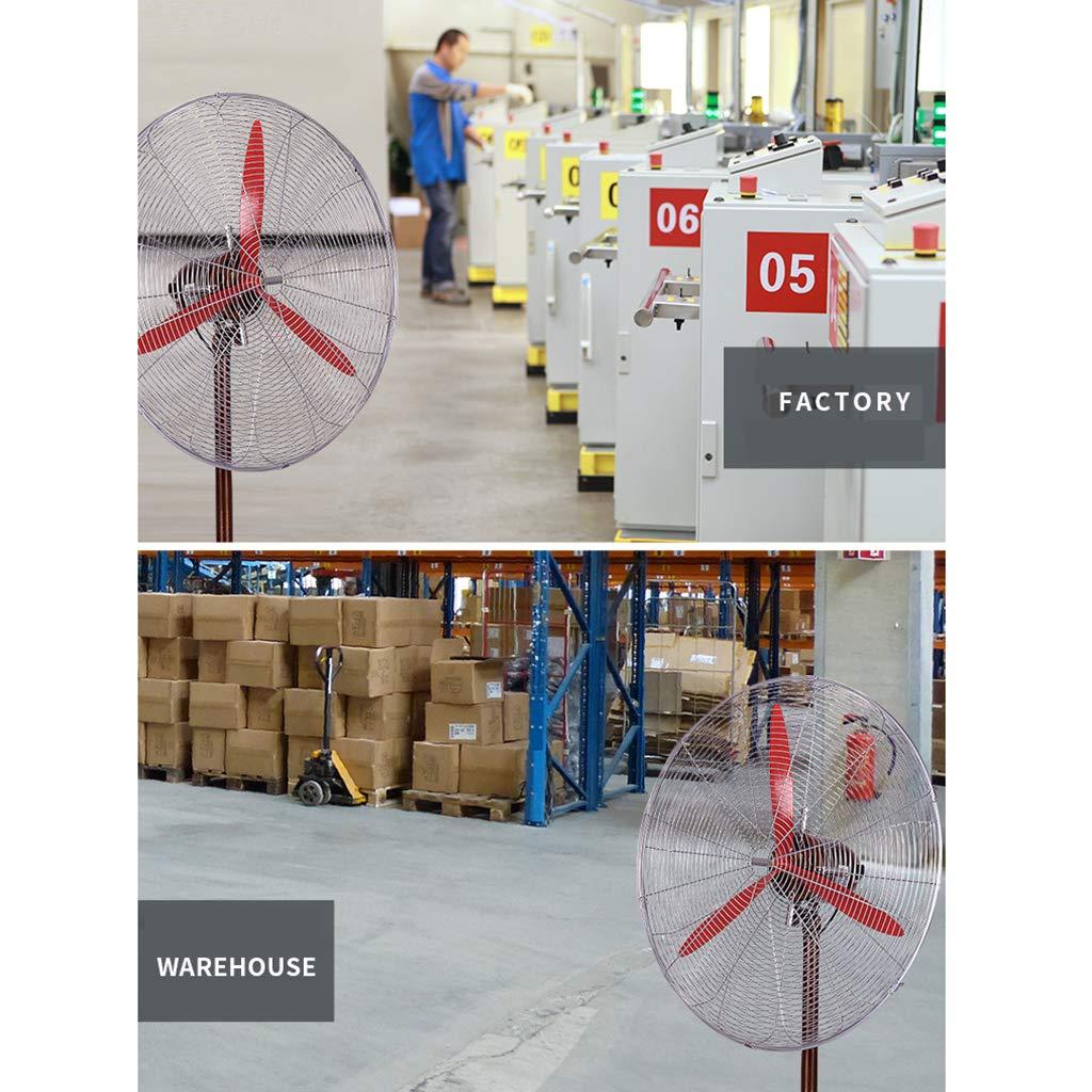 LP Fans Ventilador Industrial con Pedestal Oscilante, Ventilador De Pie, 3 Velocidades Fuertes, Volumen Grande De Aire De La Maquinaria De Tres Cuchillas para El Hogar: Amazon.es: Hogar