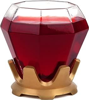 BigMouth Inc Stemless Wine Glass (Diamond Ring)