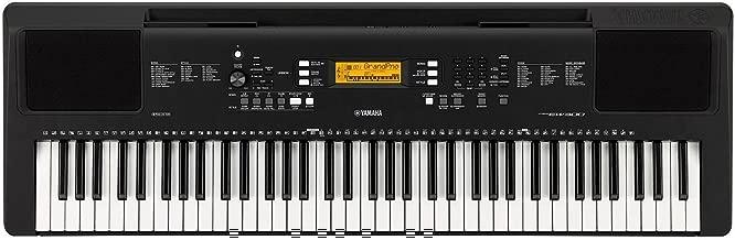 Yamaha PSR-EW300 76-Key Portable Keyboard (power adapter sold separately)