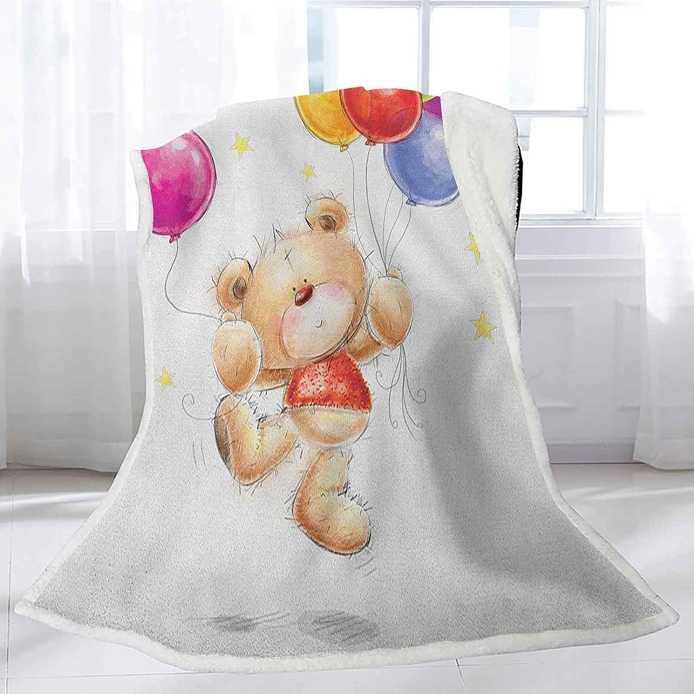 Interestlee Cartoon Baby Blankets 50
