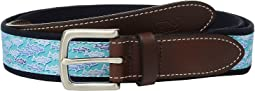 Striped Bass Canvas Club Belt