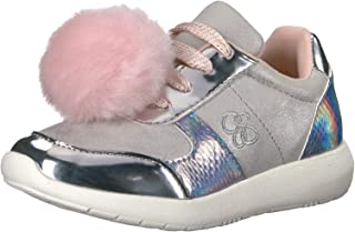 Jessica Simpson Kids Girls Duece Low Top Lace Up Running Sneaker US
