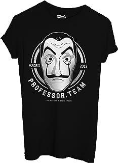 T-Shirt LA CASA di Carta Serie TV - DALÌ Mask - Film by Mush Dress Your Style
