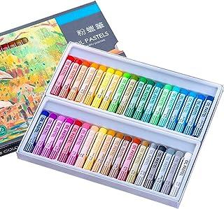 ست پاستیل روغنی ، مداد رنگی هنری 36 رنگ متنوع و غیر نقره ای دور نقاشی رنگ روغن روغن پاستل استیک لوازم هنری برای کودکان ، هنرمندان ، مبتدیان ، دانشجویان ، بزرگسالان نقاشی نقاشی هنری (36 رنگ)