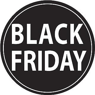 Adesivo4You.com - Adhesivo para ventana de la tienda Black Friday Saldi Descuento promoción de adhesivos de Venerdi negro ...