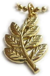 Sprig of Acacia Freemasons Blue Lodge Master Masonry Pendant Necklace w/ball chain