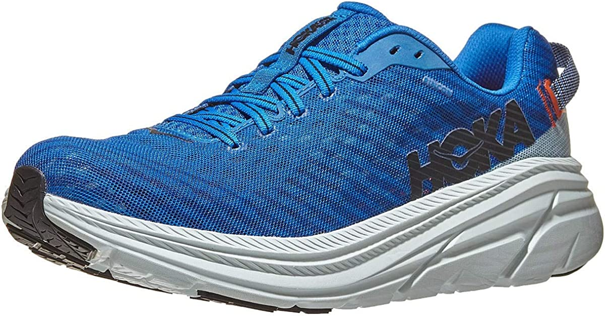 Challenge the lowest price Colorado Springs Mall of Japan ☆ HOKA ONE Rincon Men's 6 Running Wan Shoes Imperial Blu Blue