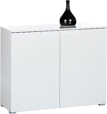 AVANTI TRENDSTORE 2 Ante, 2 cassetti Nardo Com/ò in Legno Laminato Bianco Opaco Disponibile in Diversi Modelli