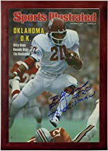 Billy Sims Sports Illustrated Autograph Replica Super Print - Oklahoma Sooners - 10/3/1977 - Framed