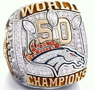 crystal 1st store Denver Broncos Super Bowl 50 Championship Ring (Von Miller)