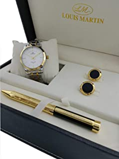 Louis Martin Dress Watch For Men Analog Stainless Steel - S2001