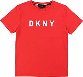 DKNY Camiseta Estampada de algodón Niã'O