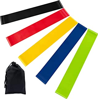 Newdora Resistance Bands Skin-Friendly Exercise Bands with 5 Different Resistance Levels Workout Resistance Bands Ideal fo...