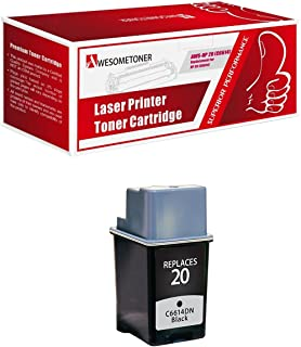 Remanufactured Ink Cartridge Replacement for HP 20 (1 Black)
