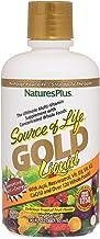 NaturesPlus Source of Life Gold Liquid – 30 fl oz – Tropical Fruit Flavor..
