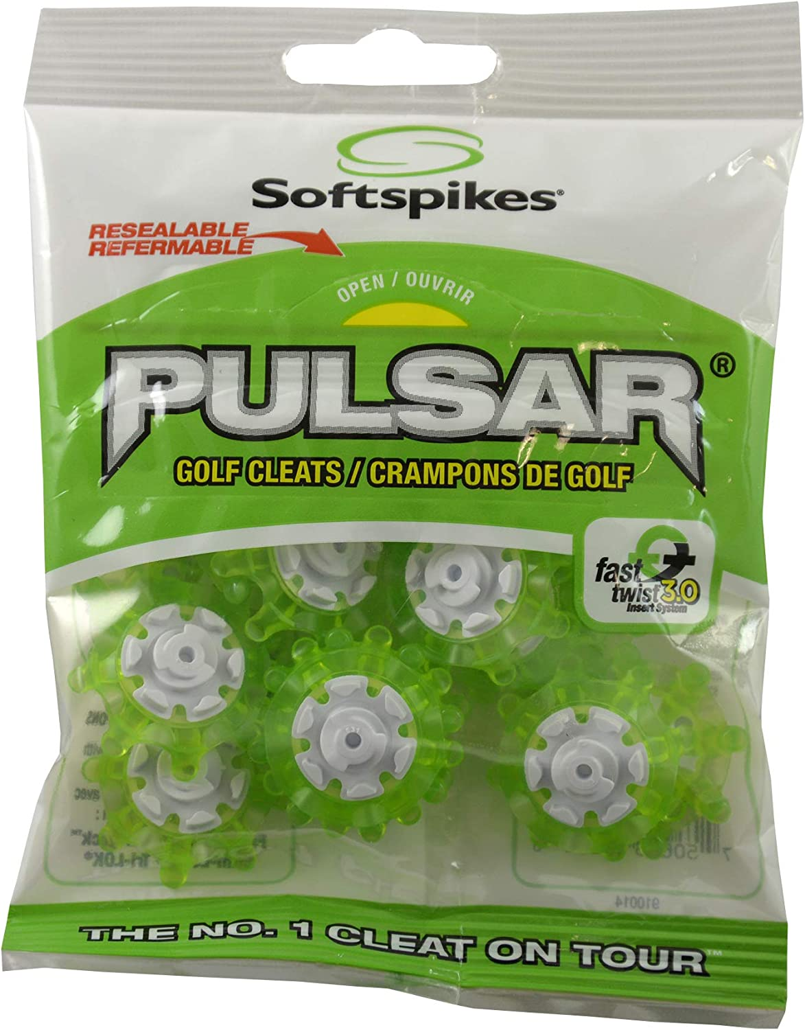Softspikes Pulsar Golf sale Cleats Fast Green Department store 3.0 - Twist