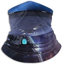 Unisex Sun Protection Cover Mask Star Trek Bridge Crew Neck Gaiter for Outdoor Motorcycle Black