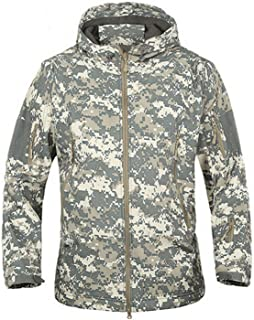 Fairy-forest Camouflage Military Waterproof Windbreaker Raincoat Hunt Outerwear Tactical Jackets