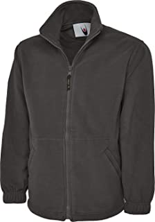 Shoppersbay Uneek UC604 Mens Adult Classic Full Zip Micro Fleece Coat Jacket Size XS-6XL
