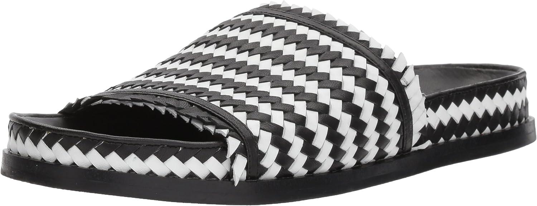 Sigerson Morrison Womens Aoven Flat Sandal