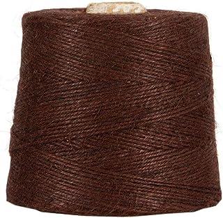 Jutegarn, Braun, 1 kg, ca. 500 m Juteschnur, 100% Jute, auf Pappspule