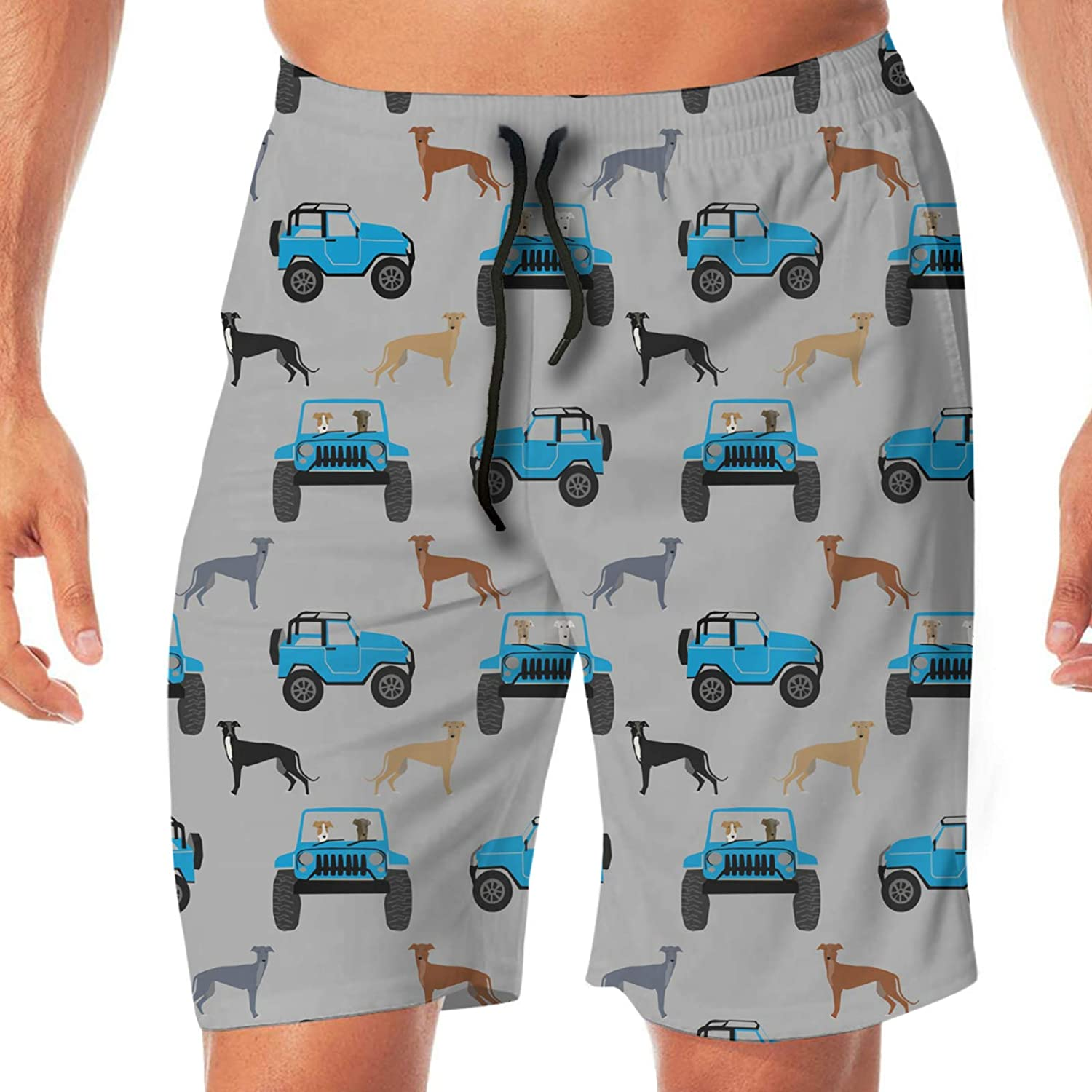 Coolfun Men¡s Beach Shorts Opening large release sale 3D Printed Max 44% OFF S Dry Swim Trunks Quick
