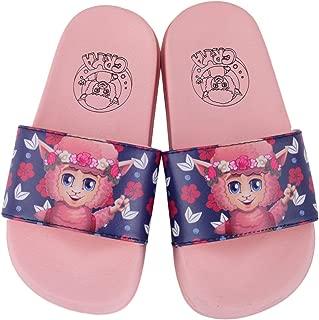 Crya Floral Boys and Girls Slide On Flip Flop Slipper