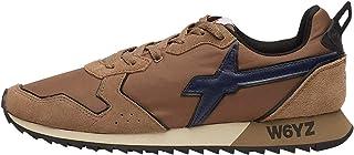 w6yz Jet-M.-Sneaker in Suede e Tessuto Tecnico