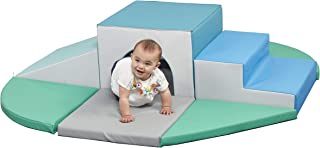 ECR4Kids SoftZone Lincoln Tunnel Foam Climber - Indoor Active Play Structure for Toddlers and Kids - Soft Foam Play Set, Contemporary