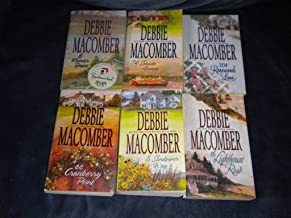 Lot of 6 Debbie Macomber Cedar Cove paperback ~ 16 Lighthouse Road, 204 Rosewood Lane, 8 Sandpiper Way, 44 Cranberry Point...