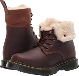 Dark Brown Snowplow Waterproof/Mustang Waxy Suede Waterproof