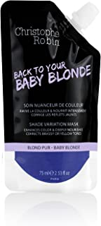 Christophe Robin Nutritive Mask with Temporary Coloring in Baby Blond - 75 ml