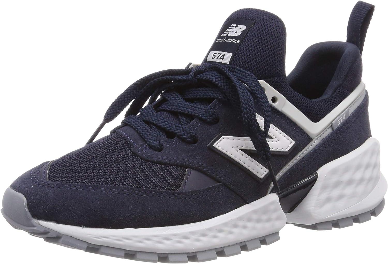 Amazon.com | New Balance 574S Suede/mesh Blue | Fashion Sneakers