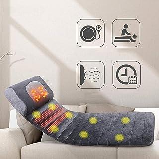 SSeir Asiento de masajeador de Vibraciones, percusión eléctrica con Tela de Tela 3D de Tela de Calor, masajeador, cojín de masajes para Autos en casa