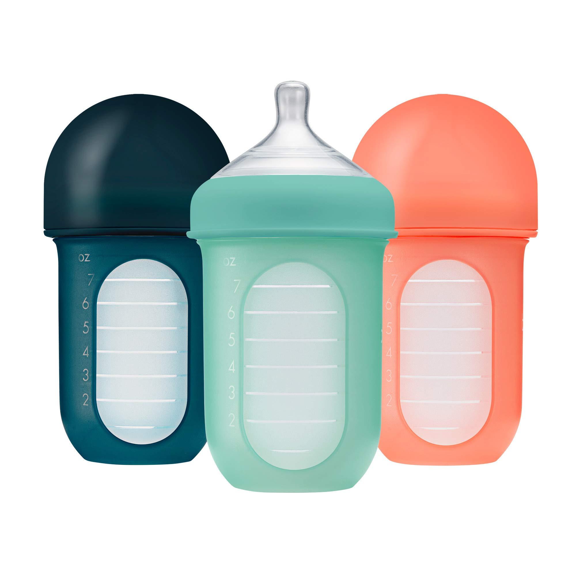 Boon NURSH Reusable Silicone Bottles