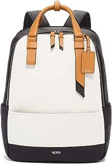 TUMI - Varek Worth Leather Laptop Backpack - 15 Inch Computer Bag for Men and Women - Spectator