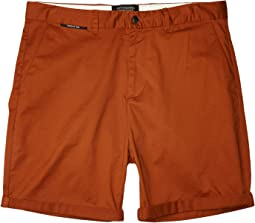 Mid Length - Classic Chino Shorts in Pima Cotton Quality