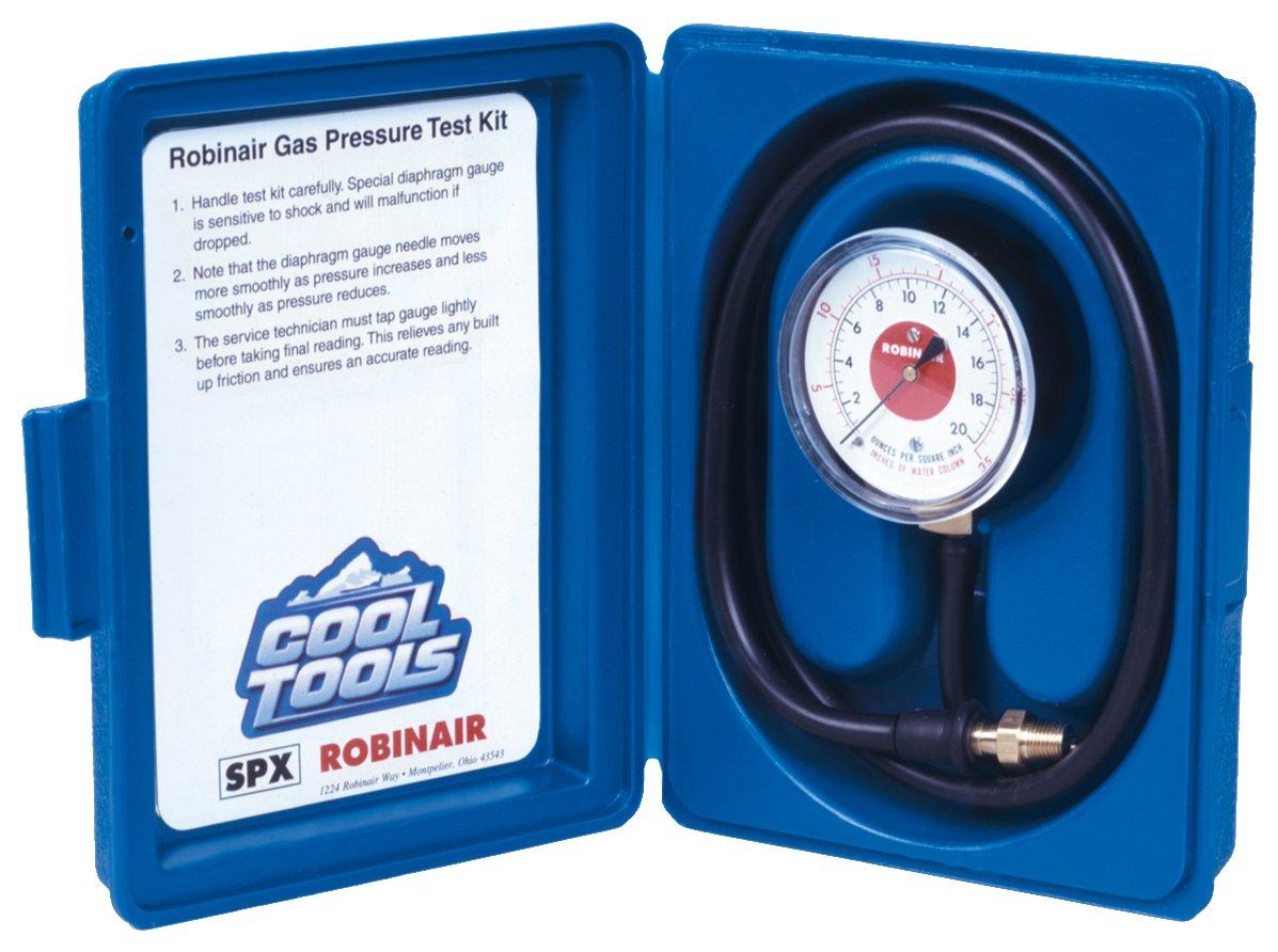 Sales for sale Robinair Oklahoma City Mall 42160 Gas Manifold Pressure Water Colum 0-35