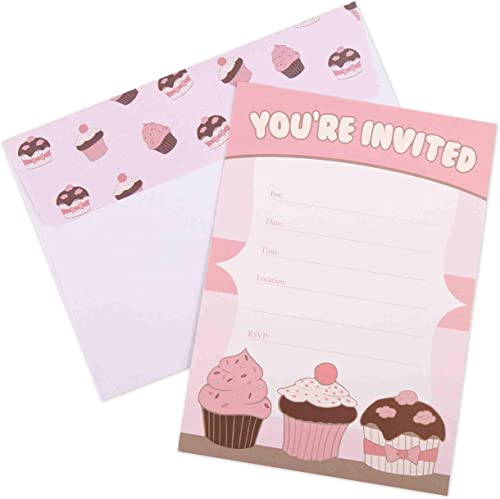 new arrival Invitations for Girls Birthday Party - 20 Cards lowest high quality with Envelopes online