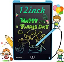 Newnaivete LCD Writing Tablet, 12 inch Colorful Screen Doodle Board, Erasable Electronic Drawing Tablet Writing Pads, Educ...