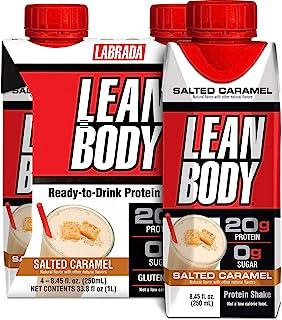 Labrada Lean Body Salted Caramel Protein Shake 250ml, 16 count