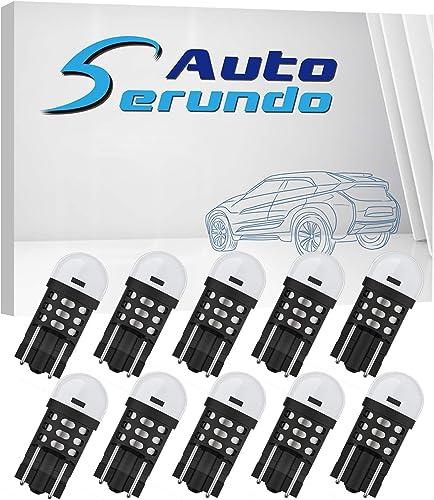 2021 Serundo Auto Upgrade 12V 24V 194 LED Car Bulb 168 T10 175 W5W 147 158 2825 Bulb for Car Interior Dome light Map light Interior Door light sale Courtesy light License Plate Light,Pack new arrival of 10pcs sale