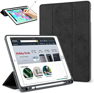 """Povinmos Stand Case Folio Cover with Pencil Holder+Wilress Keyboard for iPad Pro 12.9"""" 2017 2nd Gen: A1670 or A1671, iPad Pro 12.9"""" 2015 1st Gen: A1584 or A1652"""