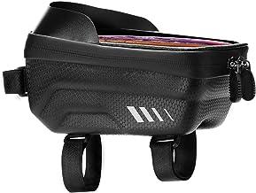 Nicoone Bike Top Tube Bag Waterdichte Telefoon Pouch Touchscreen Tas Zonnescherm Draagbare Bike Bag voor Road Mountainbike