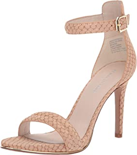 Women's Brooke High Heel Dress Sandal with Ankle Strap Heeled