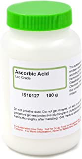 Lab-Grade Ascorbic Acid, 100g - The Curated Chemical Collection