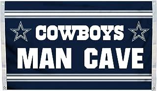 Fremont Die NFL Flag with Grommets, Dallas Cowboys, Man Cave